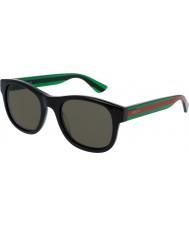 Gucci Mens gg0003s occhiali da sole verde nero