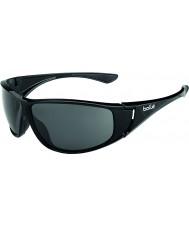 Bolle Highwood nero lucido polarizzato TNS occhiali da sole