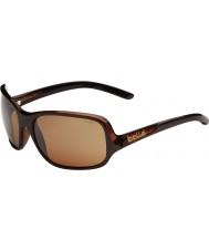 Bolle Kassia cioccolato lucido occhiali da sole polarizzati pistola arenaria