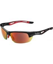 Bolle Bolt s opachi occhiali da sole di fuoco TNS nero