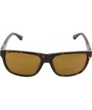 Emporio Armani Ea4035 58 moderno avana scuro 502683 occhiali da sole polarizzati