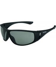 Bolle Highwood opaca modulatore nero occhiali da sole polarizzati grigi