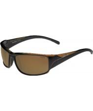 Bolle Keelback marrone lucido polarizzati AG-14 gli occhiali da sole