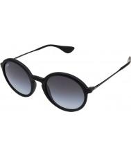 RayBan Rb4222 50 giovincello occhiali da sole 622-8g gomma nera
