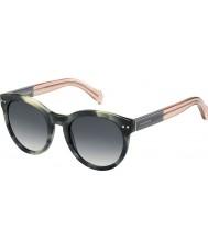 Tommy Hilfiger Donne ° 1291-ns MBR 9o verdi occhiali da sole rosa avana