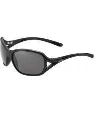 Bolle Solden nero lucido polarizzato TNS occhiali da sole