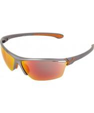 Cebe Cinetik occhiali da sole grande grigio metallico