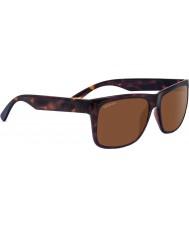 Serengeti Positano lucido scuro tartaruga polarizzato driver occhiali da sole
