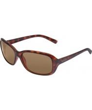 Bolle Molly tartaruga scuro occhiali da sole di colore marrone scuro