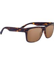 Serengeti Positano levigato tartaruga scuro occhiali da sole a specchio polarizzato driver oro