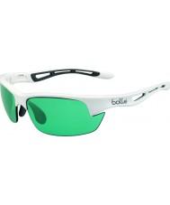 Bolle bianco lucido competivision occhiali da sole pistola tennis Bolt s