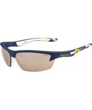 Bolle giallo blu modulatore occhiali da sole v3 Golf Cup Bolt ryder