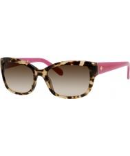 Kate Spade New York Signore Johanna-s ryp Y6 occhiali da sole avana rosa