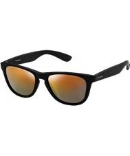 Polaroid P8443 9ca L6 nero occhiali da sole polarizzati marroni
