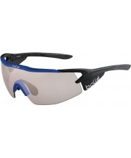 Bolle 12269 occhiali da sole neri aeromax