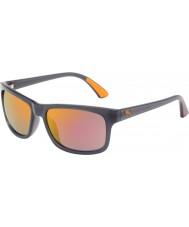 Puma Mens pu0010s occhiali da sole arancione grigio