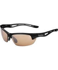 Bolle modulatore occhiali da sole neri v3 golf Bolt s