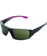 Cebe Escursione lucido antracite occhiali da sole rosa