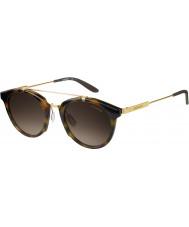 Carrera Mens carrera 126-S SCN occhiali da sole d'oro ha avana