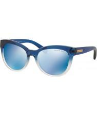 Michael Kors Mk6035 53 Mitzi i blu sfumato 312255 occhiali da sole a specchio blu
