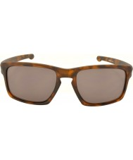 Oakley Oo9262-03 scheggia opaco marrone tartaruga - occhiali da sole grigi caldi