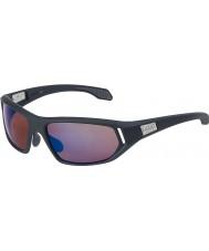 Bolle Cervin raso grigio scuro rosa occhiali da sole blu