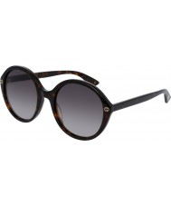 Gucci Donna gg0023s occhiali da sole avana