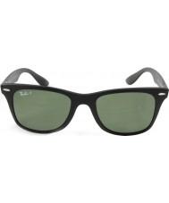 RayBan Rb4195 52 wayfarer liteforce opachi 601s9a nero occhiali da sole polarizzati