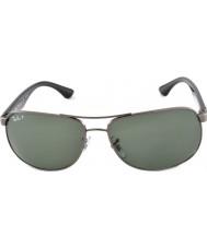 RayBan Rb3502 61 highstreet gunmetal 004-58 occhiali da sole polarizzati