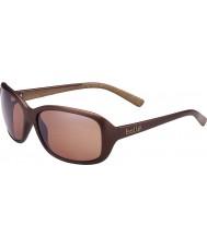 Bolle Molly opaco cioccolato occhiali da sole polarizzati pistola arenaria