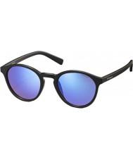 Polaroid Pld6013-s DL5 JY opachi occhiali da sole polarizzati neri