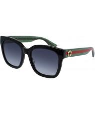 Gucci Donna gg0034s occhiali da sole verde nero