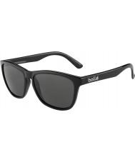 Bolle 437 retrò raccolta nero lucido polarizzati TNS occhiali da sole