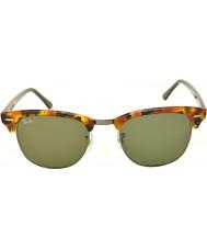 RayBan RB3016 51 Clubmaster macchiato nero avana 1157 occhiali da sole
