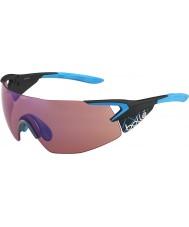 Bolle occhiali da sole 5 ° elemento blu pro Matt carbonio rosa-blu