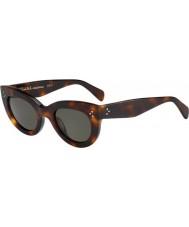Celine Donne cl 41050-s occhiali da sole tartaruga 05L 1e