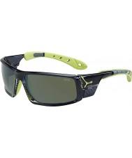 Cebe Ice 8000 occhiali da sole traslucido Anis grigio polarizzati