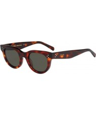 Celine Donne cl 41053-s 05D 1e occhiali di tartaruga verde