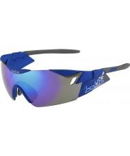 Bolle matt marina occhiali da sole blu-violetto 6 ° Senso s