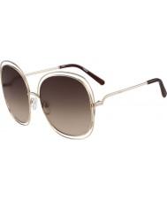 Chloe Donna ce126s oro rosa e occhiali da sole marroni