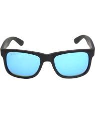 RayBan Rb4165 justin nero - specchio blu