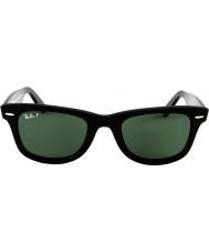 RayBan Rb2140 originale wayfarer nero - verde polarizzato