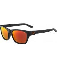 Cebe Hacker grigio opaco 1500 grigio in flash occhiali da sole a specchio d'arancio