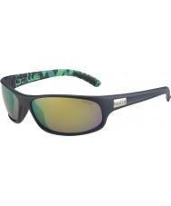 Bolle Anaconda verde opaco blu occhiali da sole polarizzati smeraldo marrone