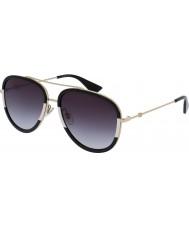 Gucci Donna gg0062s oro occhiali da sole grigio