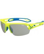Cebe Cbstmpro s-track m occhiali da sole gialli