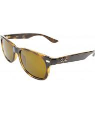 RayBan Junior Rj9052s 47 nuova viandante lucidi avana 152-3 occhiali da sole