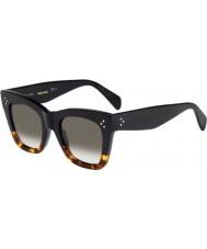 Celine Donne cl 41090-s FU5 Z3 occhiali di tartaruga neri