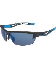 Bolle occhiali da sole Bolt nero opaco rosa-blu