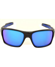 Oakley turbina Oo9263-05 nero inchiostro - occhiali da sole zaffiro Iridium